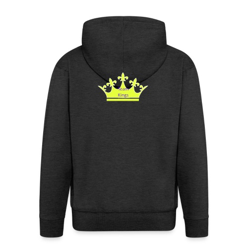Team King Crown - Men's Premium Hooded Jacket