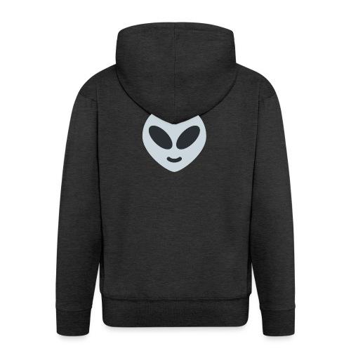 Alien Gray - Chaqueta con capucha premium hombre