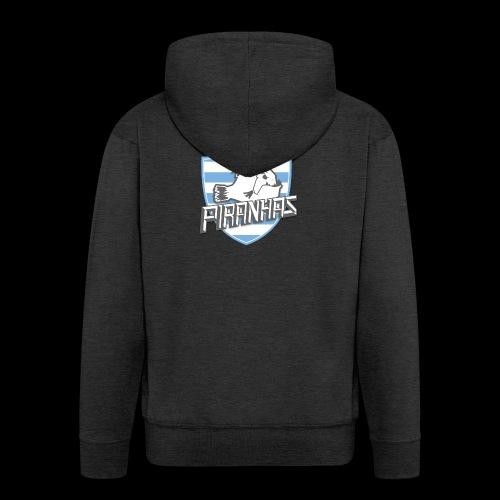 Logo Piranhas v5 - Veste à capuche Premium Homme