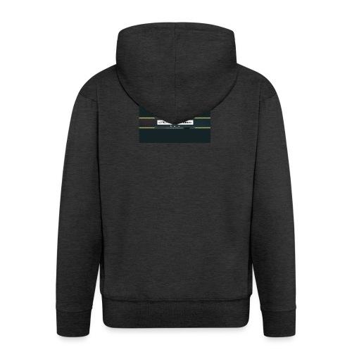 JUSTL1me channel banner merch - Men's Premium Hooded Jacket