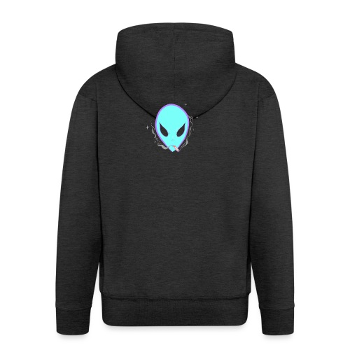 People alienate me. I'm out of this world - Men's Premium Hooded Jacket