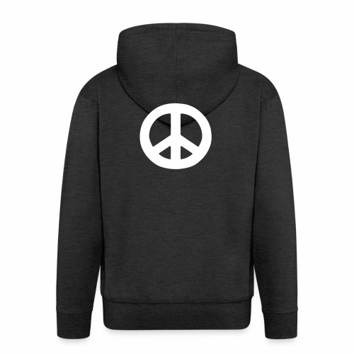 Peace - Men's Premium Hooded Jacket