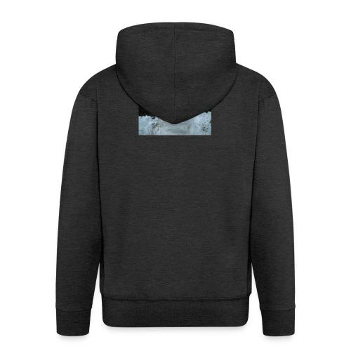 Snow Man - Men's Premium Hooded Jacket