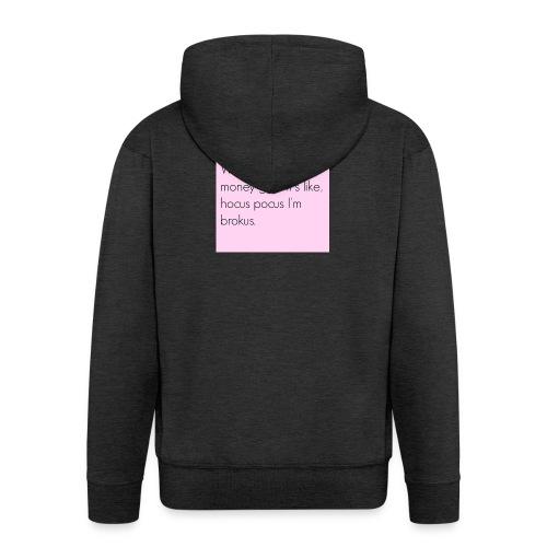 Vrouwen sweater - Mannenjack Premium met capuchon
