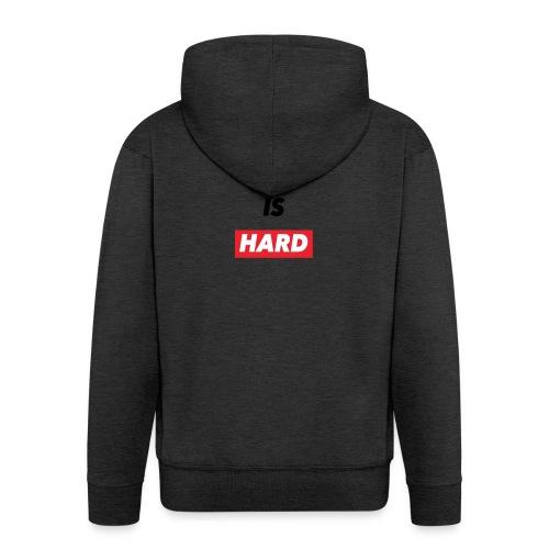 bomber life - Felpa con zip Premium da uomo