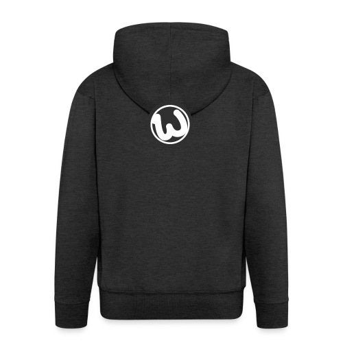 Wooshy Logo - Men's Premium Hooded Jacket
