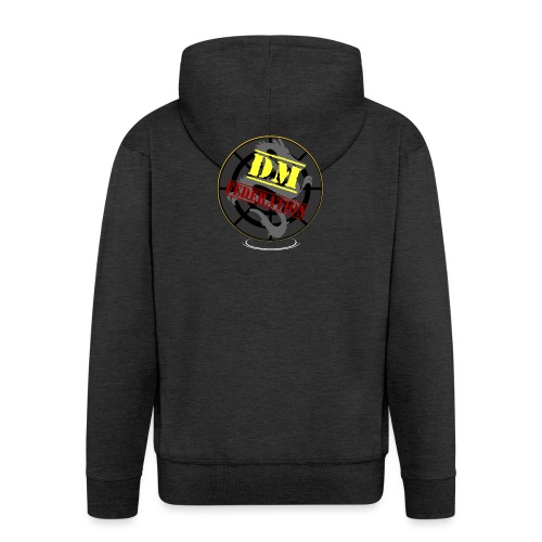 DM Federation Logo - Chaqueta con capucha premium hombre