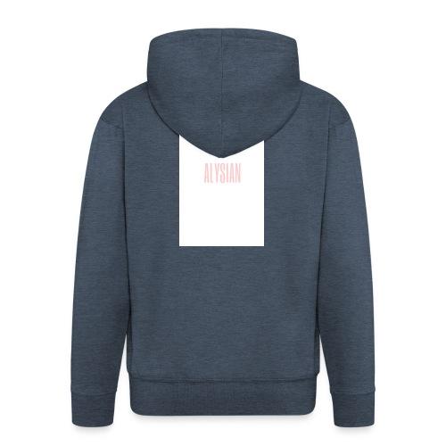 ALYSIAN LOGO - Felpa con zip Premium da uomo
