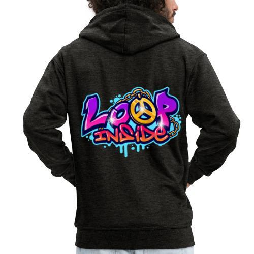 Loop Inside 3 - Männer Premium Kapuzenjacke