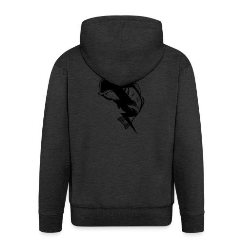 Lightning & Zander - Männer Premium Kapuzenjacke