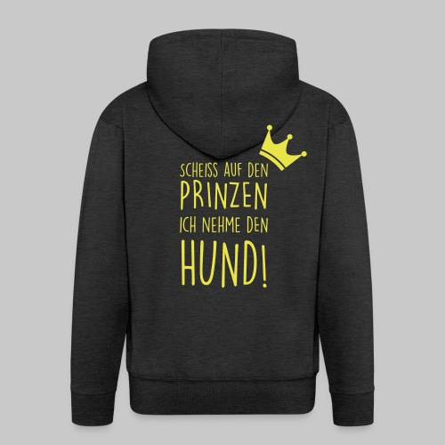 Prinz Hund - Männer Premium Kapuzenjacke