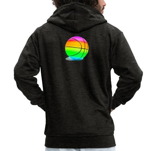 6ix9ine basketball - Men's Premium Hooded Jacket