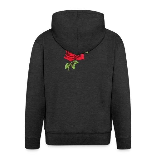 Red Roses - Mannenjack Premium met capuchon