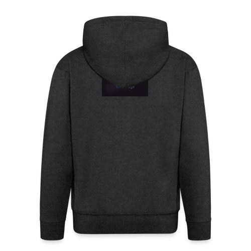 Tomi Toth logo - Men's Premium Hooded Jacket