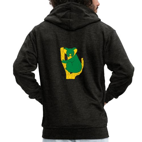 koala tree - Men's Premium Hooded Jacket