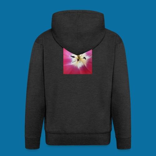 Tulipe Darwin - Veste à capuche Premium Homme