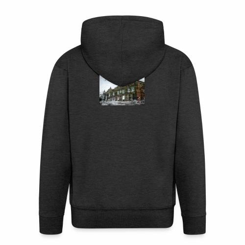 Original Artist design * Reflets - Men's Premium Hooded Jacket