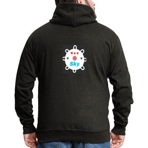 RED SKY logo - Männer Premium Kapuzenjacke