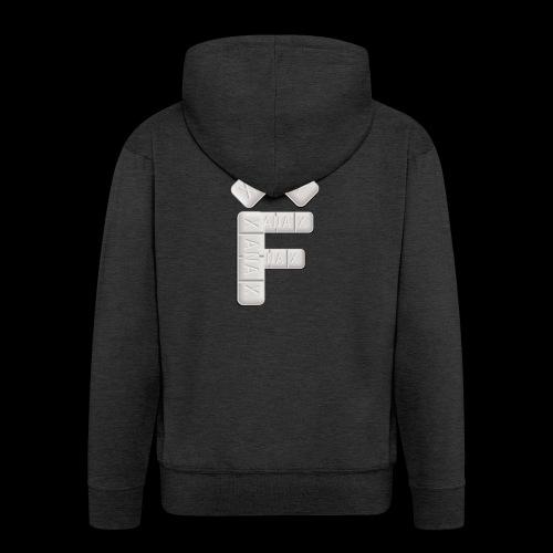 XF Xanax Logo - Männer Premium Kapuzenjacke