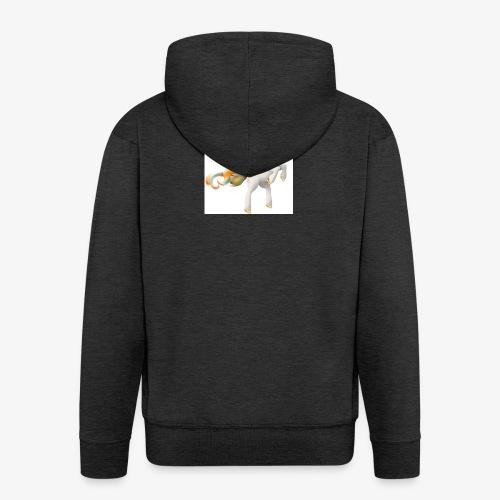 Love Unicorn - Männer Premium Kapuzenjacke