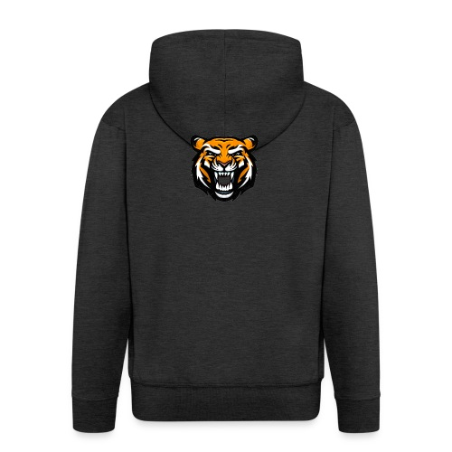 Tiger - Men's Premium Hooded Jacket