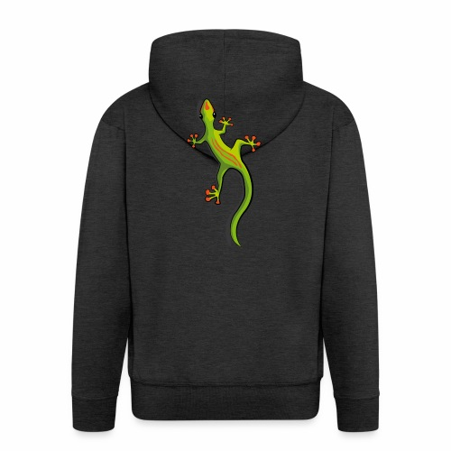 Gecko - Männer Premium Kapuzenjacke