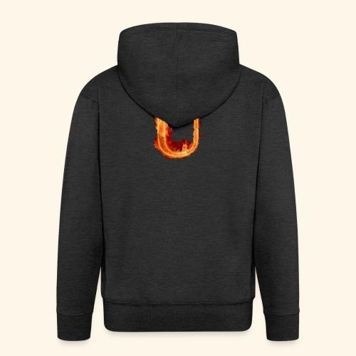 UppaWorld's Stuff - Felpa con zip Premium da uomo