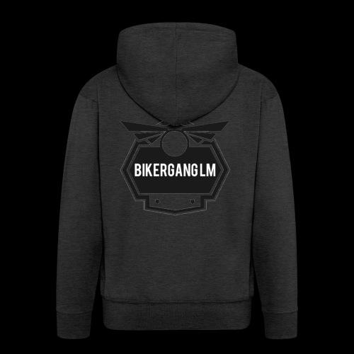BikerGang LM Logo - Männer Premium Kapuzenjacke
