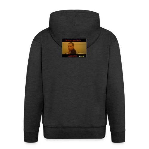 Telling Liam He Is Adopted - Men's Premium Hooded Jacket