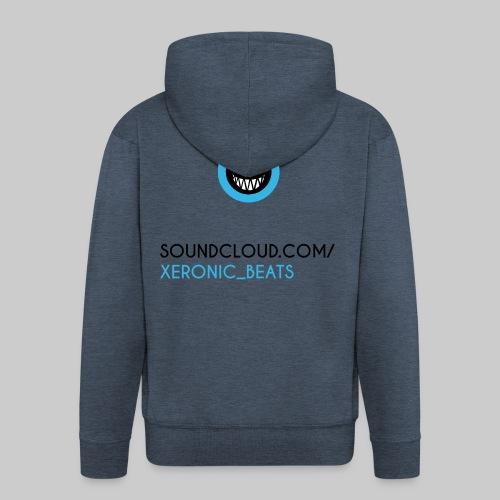 XERONIC LOGO - Men's Premium Hooded Jacket