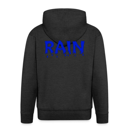 RAIN Logo - Männer Premium Kapuzenjacke