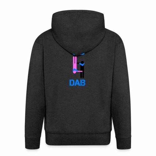 69 Dab Erotica - Felpa con zip Premium da uomo