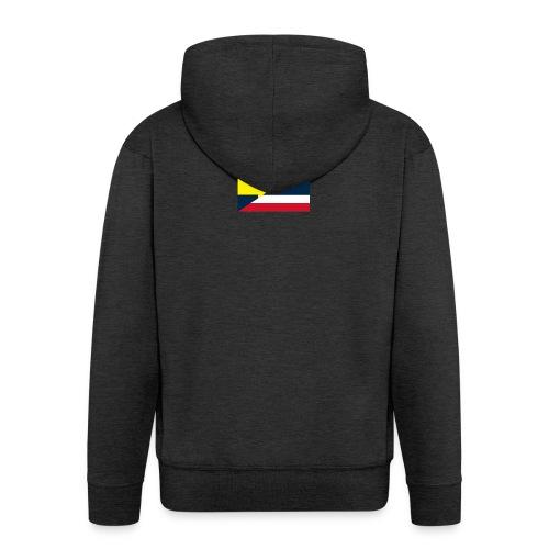 thailands flagga dddd png - Men's Premium Hooded Jacket