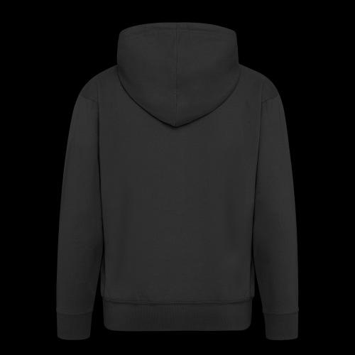 AV White - Men's Premium Hooded Jacket