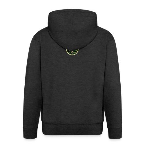 cannabis-vue-densemble - Veste à capuche Premium Homme