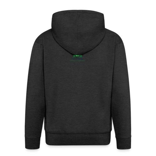TOS logo shirt - Men's Premium Hooded Jacket
