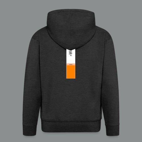 #WeSmoke - Felpa con zip Premium da uomo
