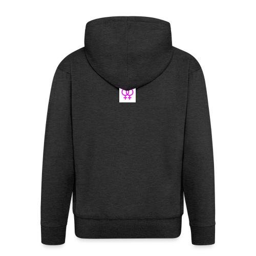 lesbian logo - Veste à capuche Premium Homme