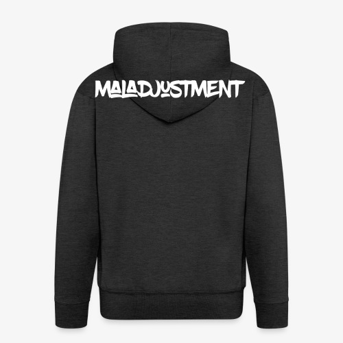 Maladjustment Logo - Männer Premium Kapuzenjacke