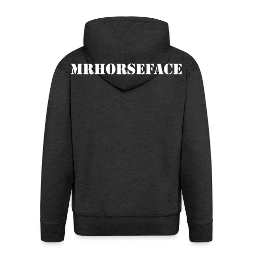 MrHorseFace - Mannenjack Premium met capuchon
