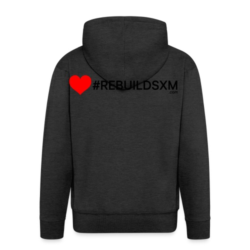 #rebuildsxm - Mannenjack Premium met capuchon