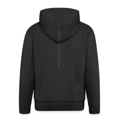 immenso_eterno_amore_spreadshirt_02-gif - Felpa con zip Premium da uomo