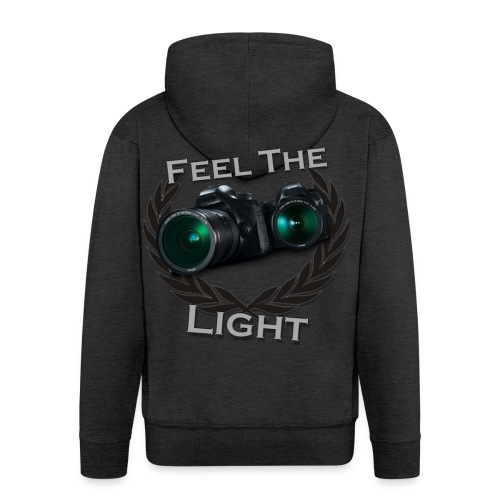 Feel the Light - Männer Premium Kapuzenjacke