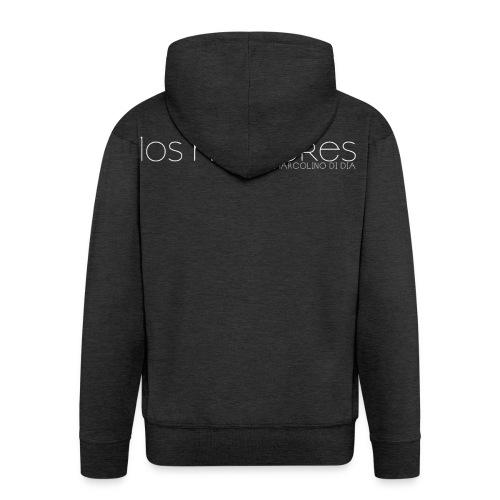LOS HOMBRES BIANCO - Felpa con zip Premium da uomo