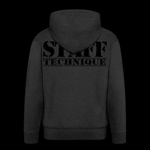 staff tech - Veste à capuche Premium Homme