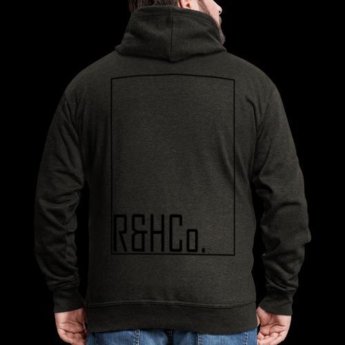 R&HCo design black - Men's Premium Hooded Jacket