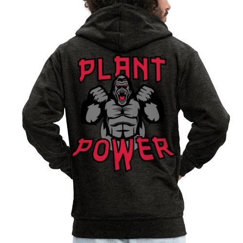 Plant Power - Männer Premium Kapuzenjacke
