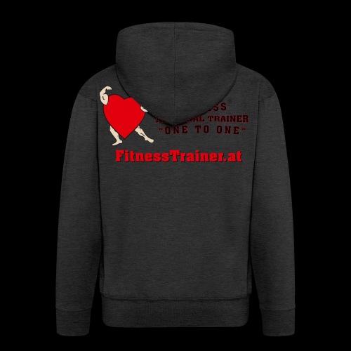 FitnessTrainer.at - Männer Premium Kapuzenjacke