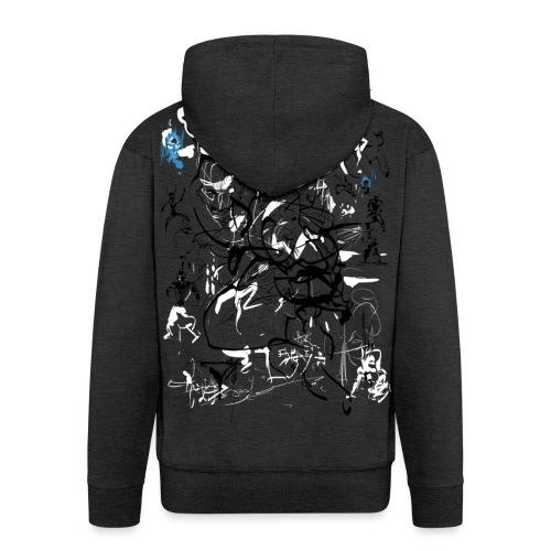 art of shaolin - Men's Premium Hooded Jacket