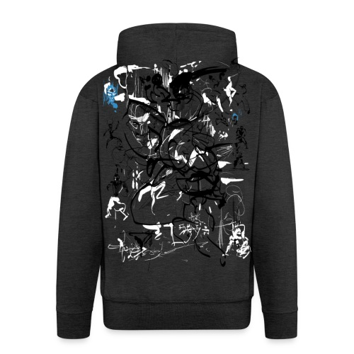 art of shaolin - Men's Premium Hooded Jacket